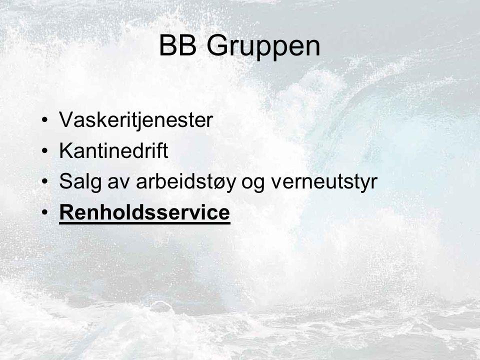 BB Gruppen Vaskeritjenester Kantinedrift