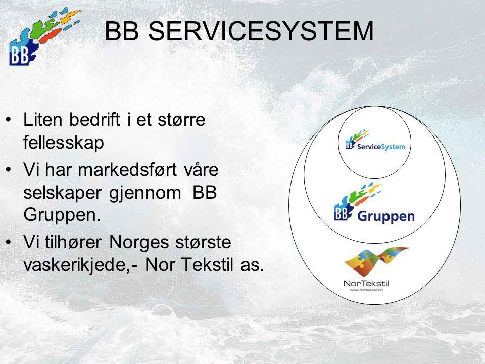 BB SERVICESYSTEM Liten bedrift i et større fellesskap