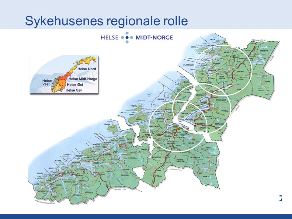 Sykehusenes regionale rolle