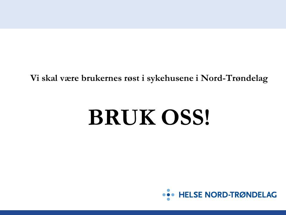 Vi skal være brukernes røst i sykehusene i Nord-Trøndelag