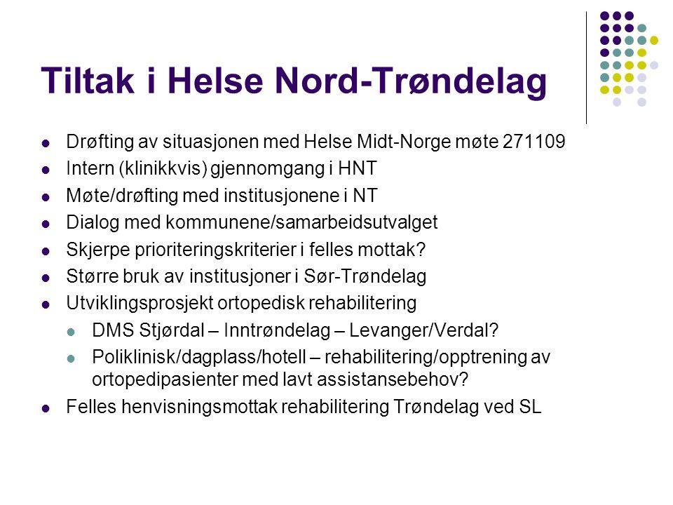 Tiltak i Helse Nord-Trøndelag