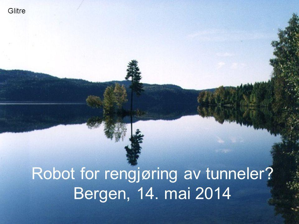 Robot for rengjøring av tunneler Bergen, 14. mai 2014