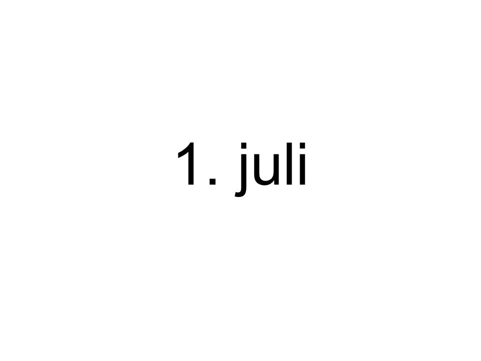 1. juli