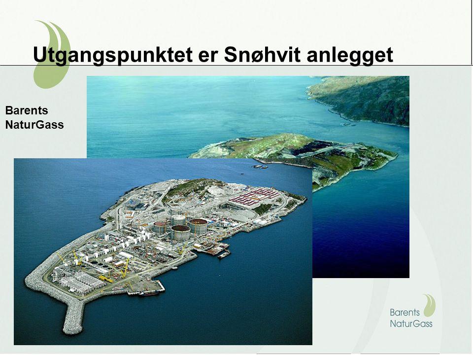 Utgangspunktet er Snøhvit anlegget