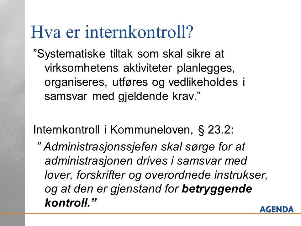 Hva er internkontroll