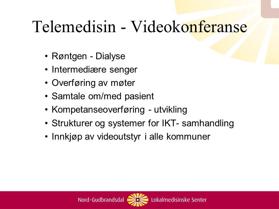 Telemedisin - Videokonferanse