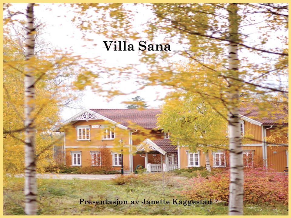 Presentasjon av Janette Kaggestad