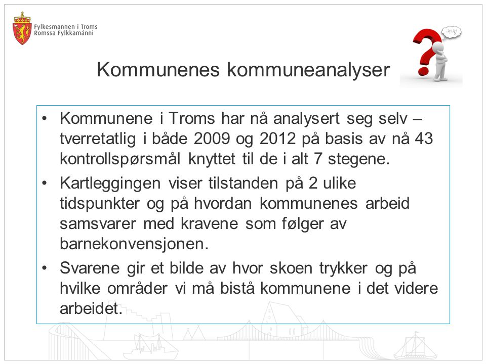 Kommunenes kommuneanalyser
