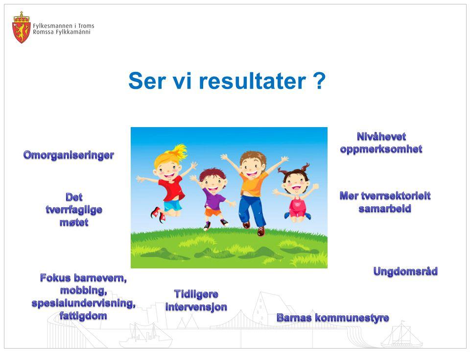 Ser vi resultater Barnas kommunestyre Nivåhevet oppmerksomhet