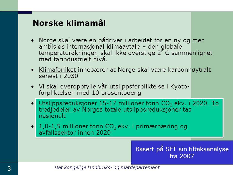 Basert på SFT sin tiltaksanalyse fra 2007