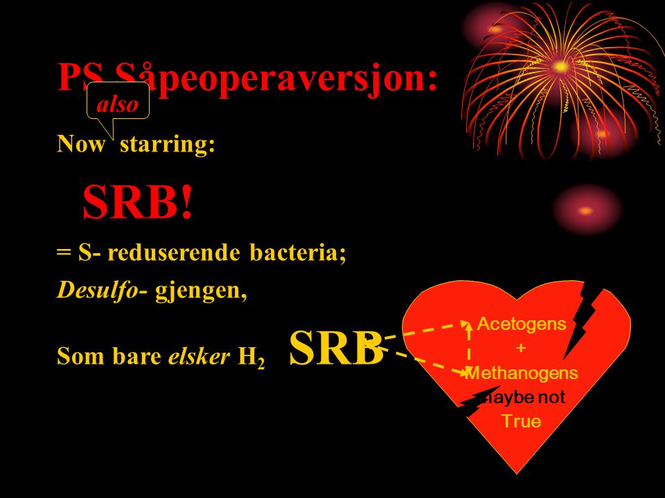 PS Såpeoperaversjon: also Now starring: SRB!