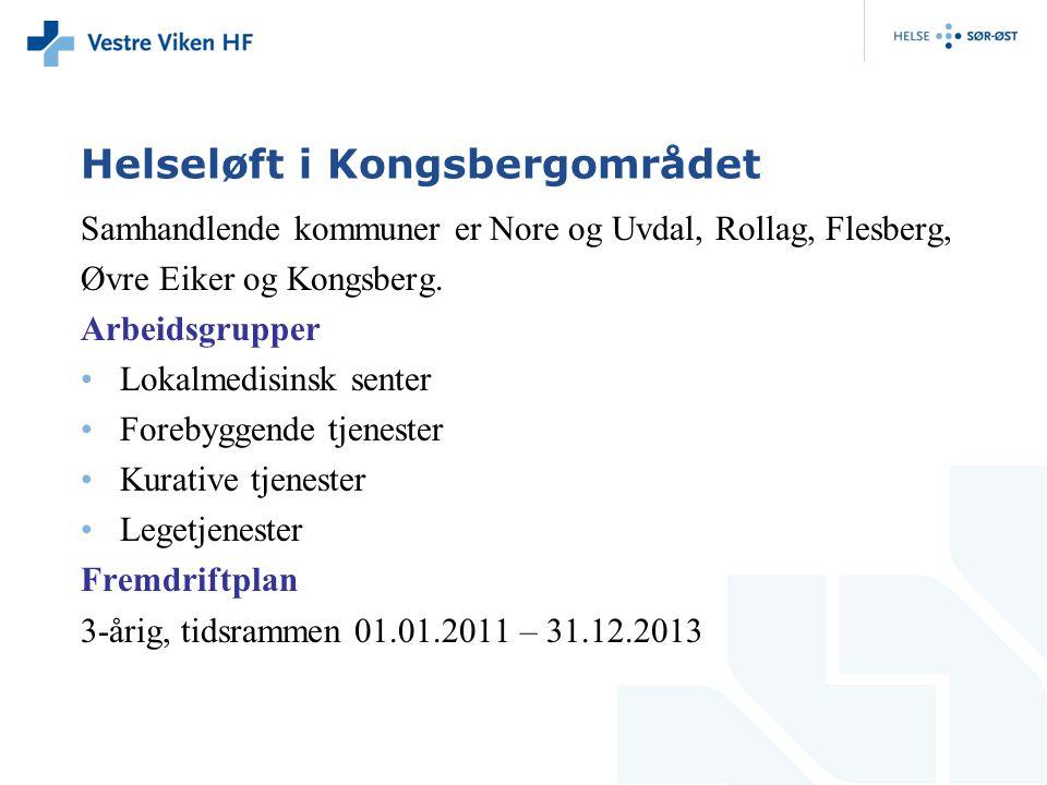 Helseløft i Kongsbergområdet