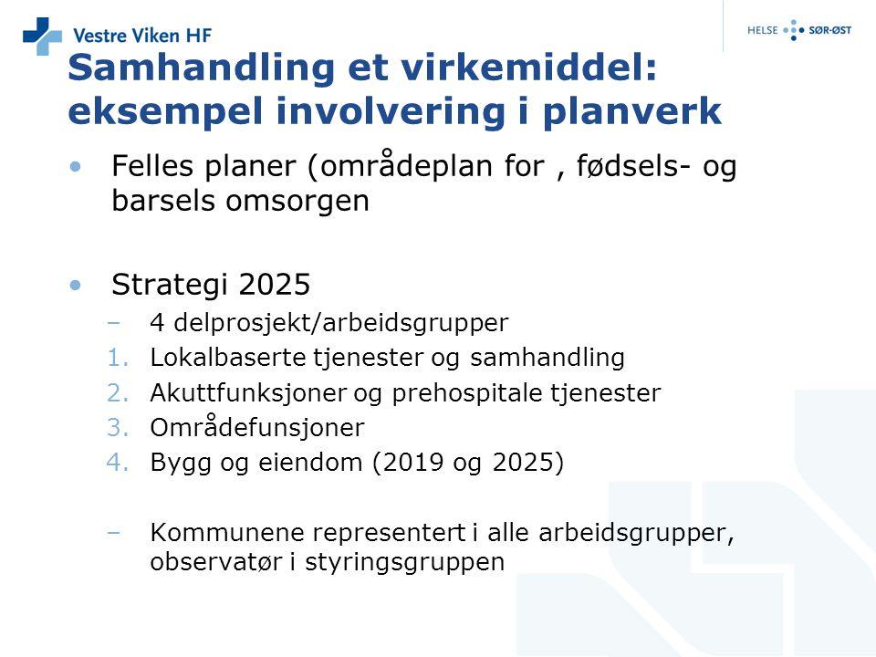 Samhandling et virkemiddel: eksempel involvering i planverk