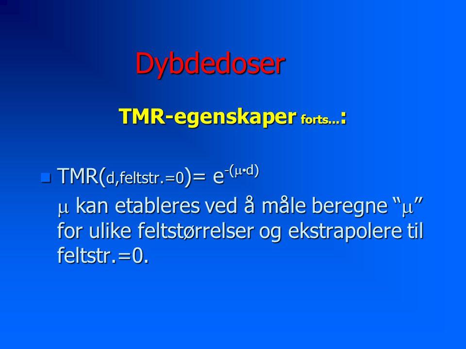 TMR-egenskaper forts...: