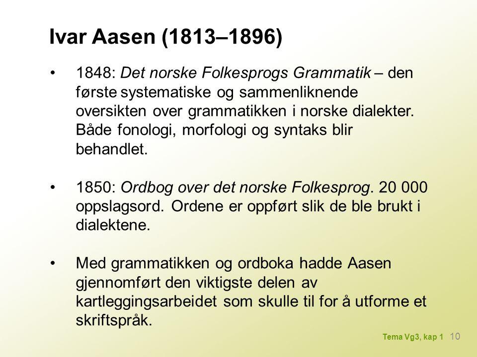 Ivar Aasen (1813–1896)