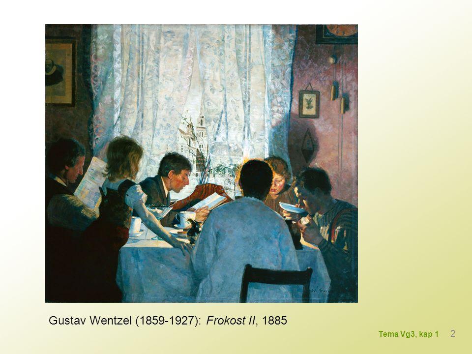 Gustav Wentzel (1859-1927): Frokost II, 1885