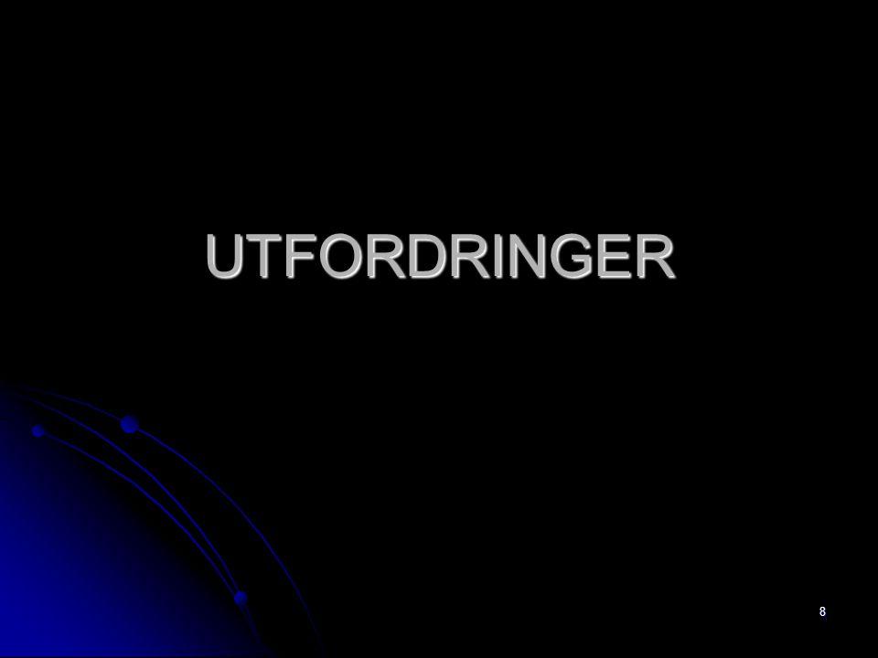 UTFORDRINGER