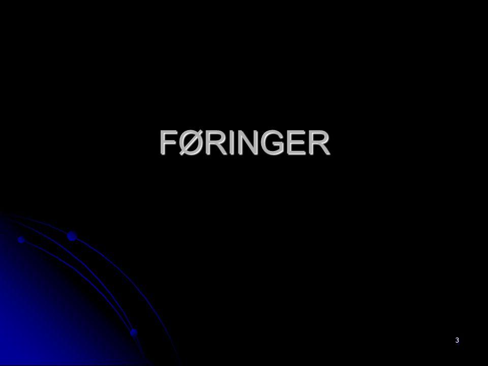 FØRINGER