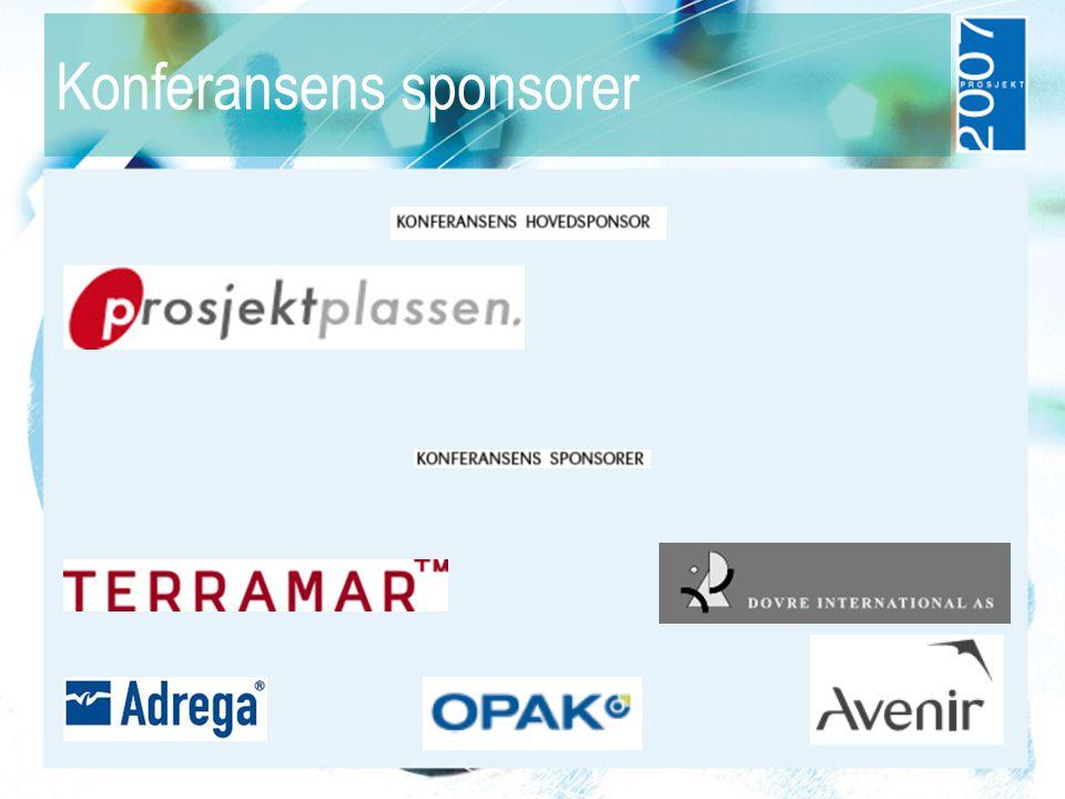 Konferansens sponsorer