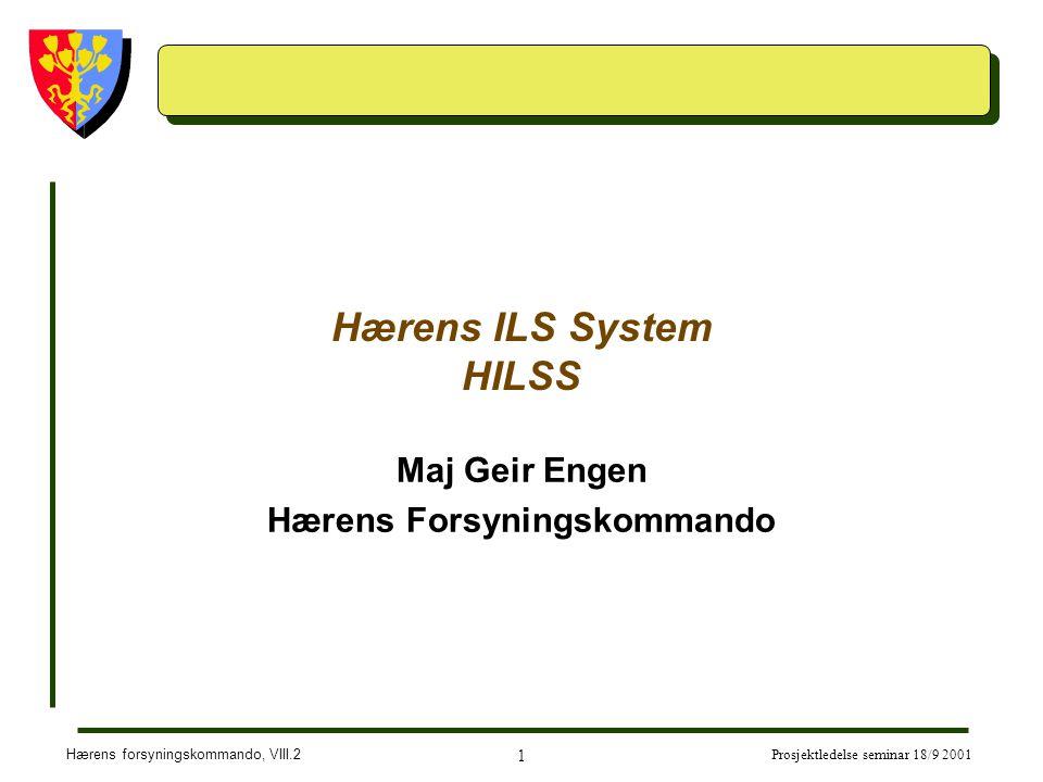 Hærens ILS System HILSS