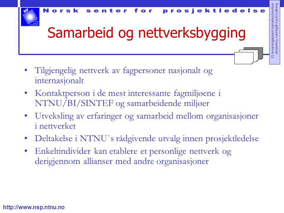 Samarbeid og nettverksbygging