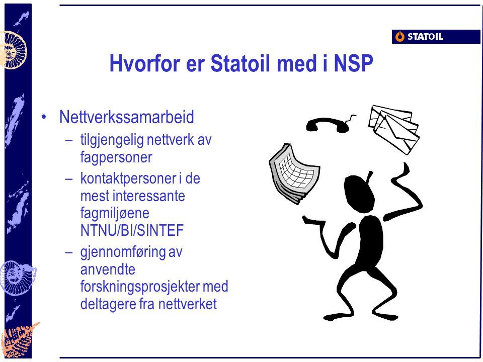 Hvorfor er Statoil med i NSP