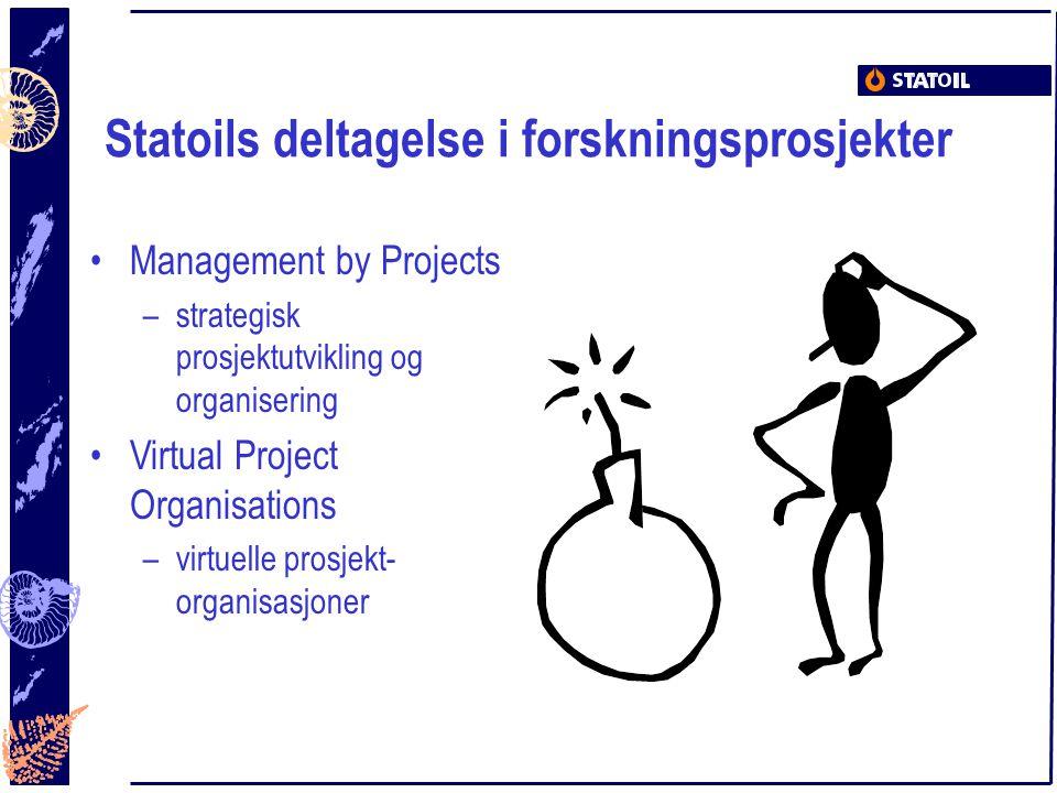 Statoils deltagelse i forskningsprosjekter