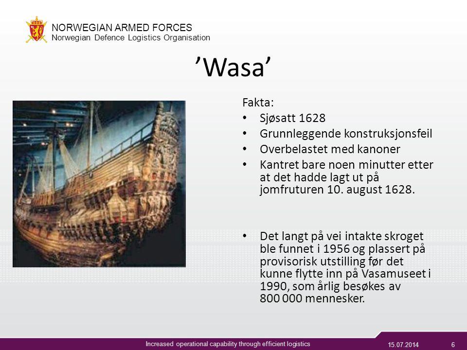 'Wasa' Fakta: Sjøsatt 1628 Grunnleggende konstruksjonsfeil