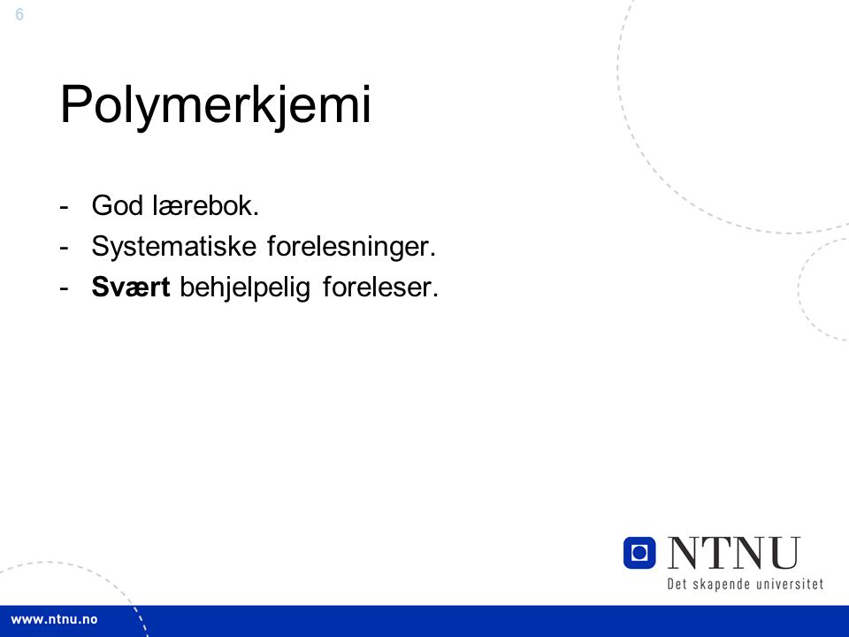 Polymerkjemi God lærebok. Systematiske forelesninger.