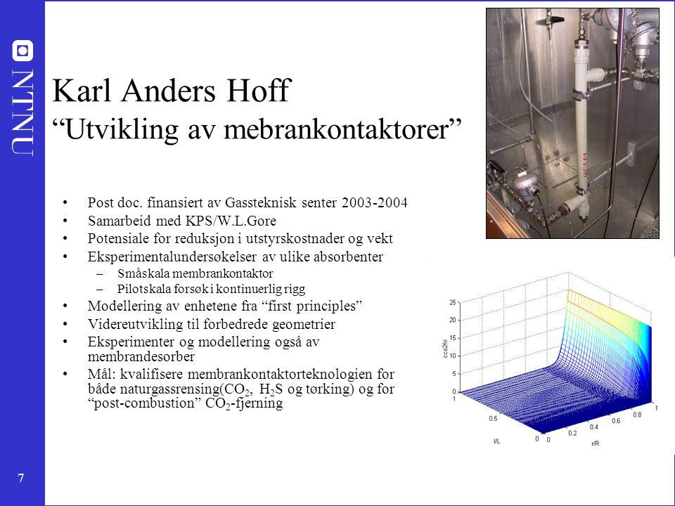 Karl Anders Hoff Utvikling av mebrankontaktorer