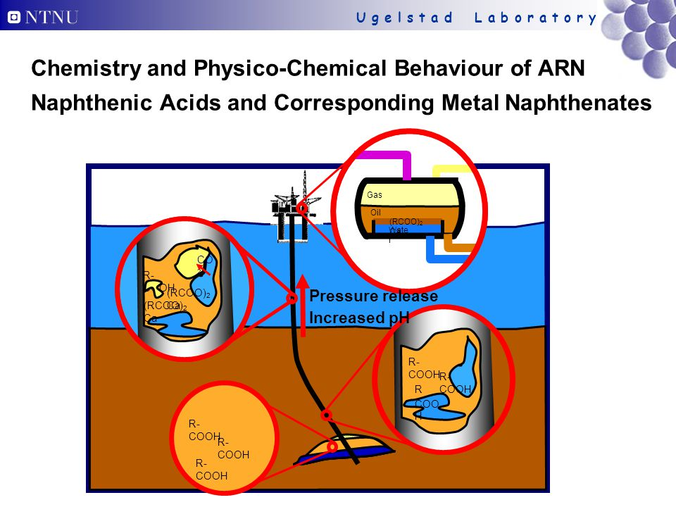 Chemistry and Physico-Chemical Behaviour of ARN Naphthenic Acids and Corresponding Metal Naphthenates