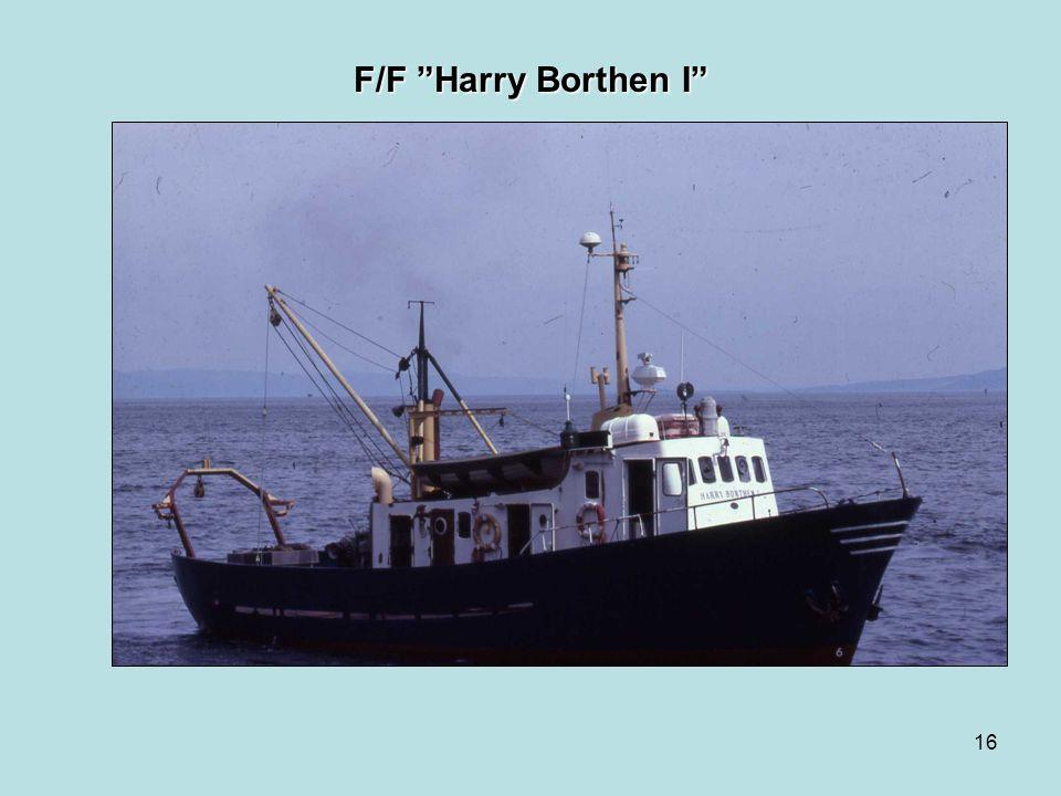 F/F Harry Borthen I