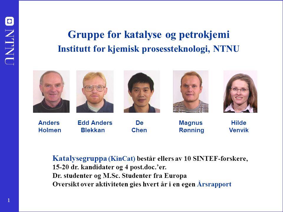 Gruppe for katalyse og petrokjemi
