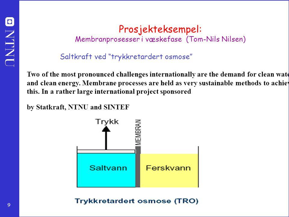 Membranprosesser i væskefase (Tom-Nils Nilsen)