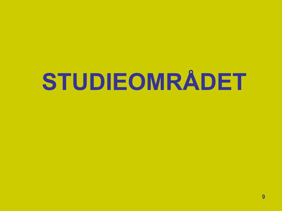 STUDIEOMRÅDET