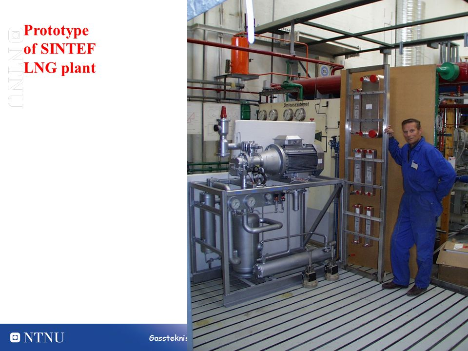 Prototype of SINTEF LNG plant