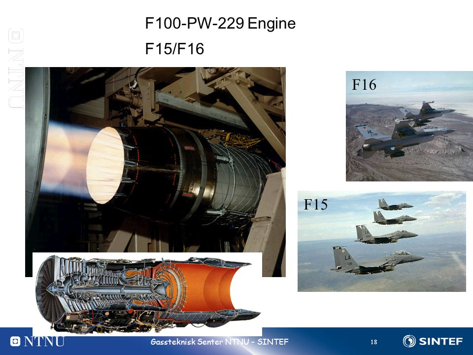 F100-PW-229 Engine F15/F16 F16 F15