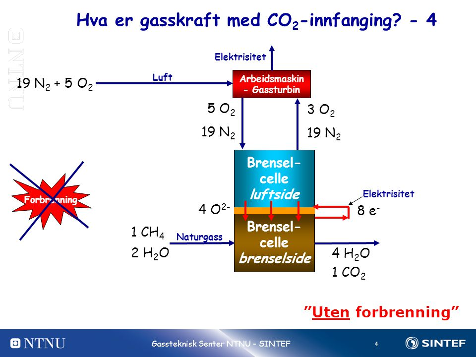 Hva er gasskraft med CO2-innfanging - 4