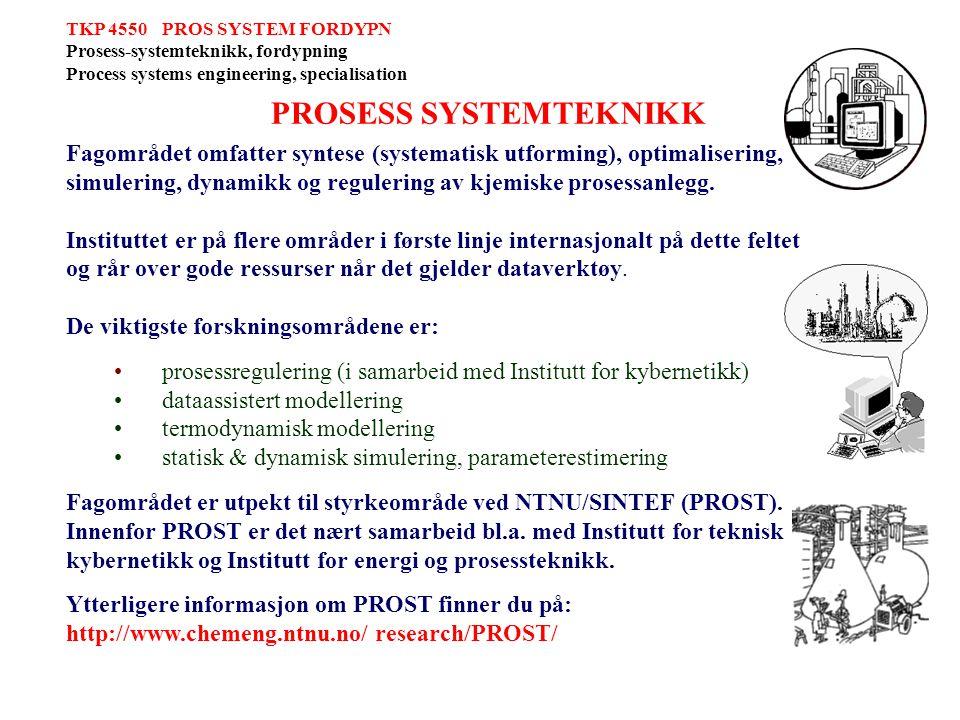 PROSESS SYSTEMTEKNIKK