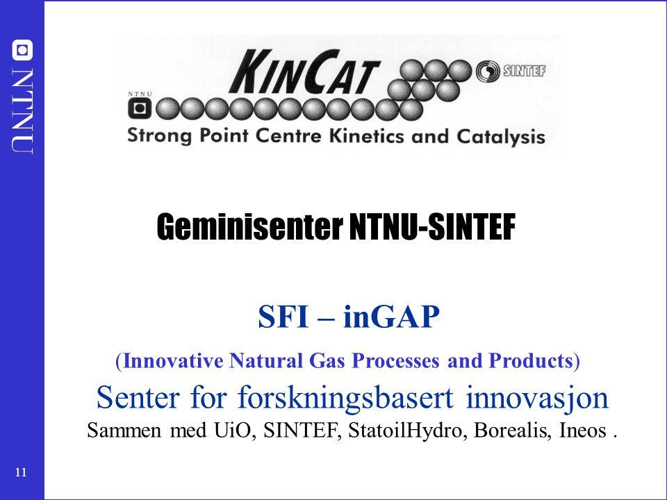 Geminisenter NTNU-SINTEF
