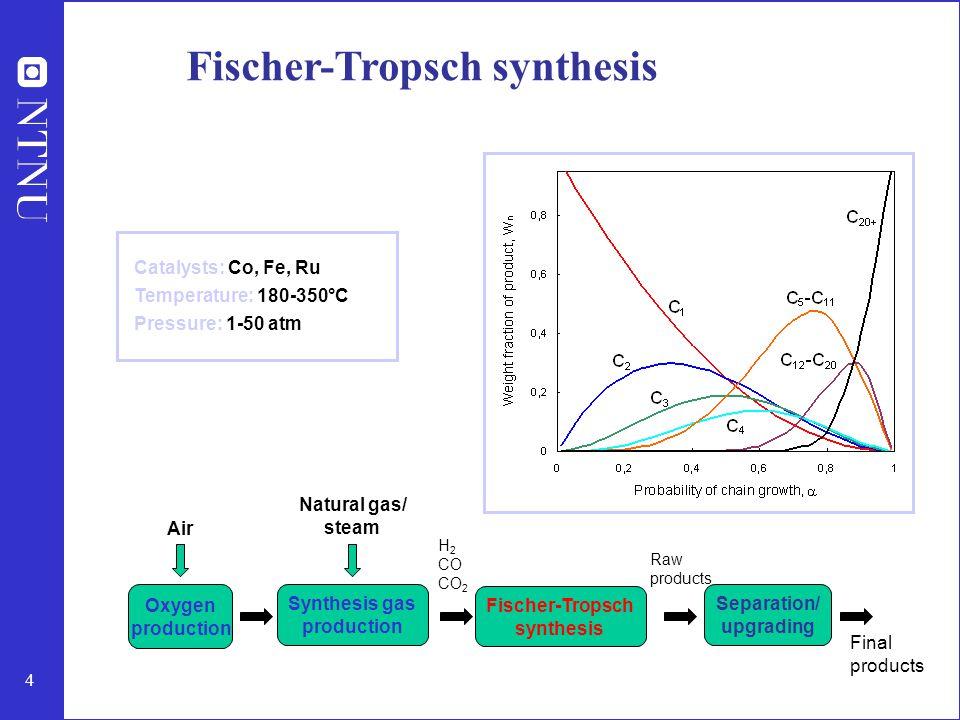 Fischer-Tropsch synthesis