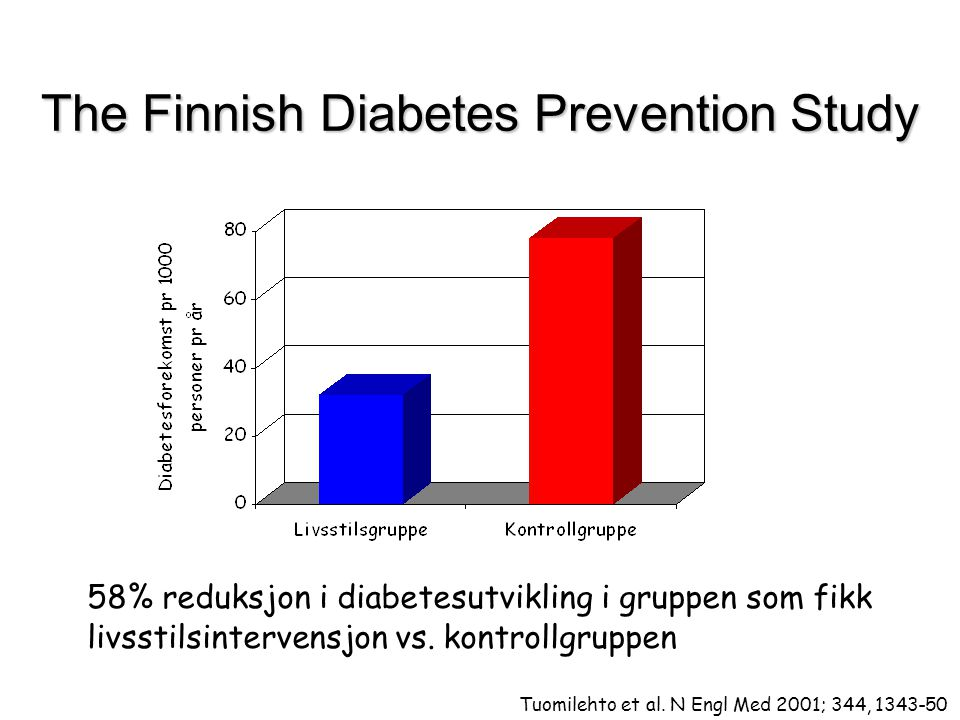 The Finnish Diabetes Prevention Study