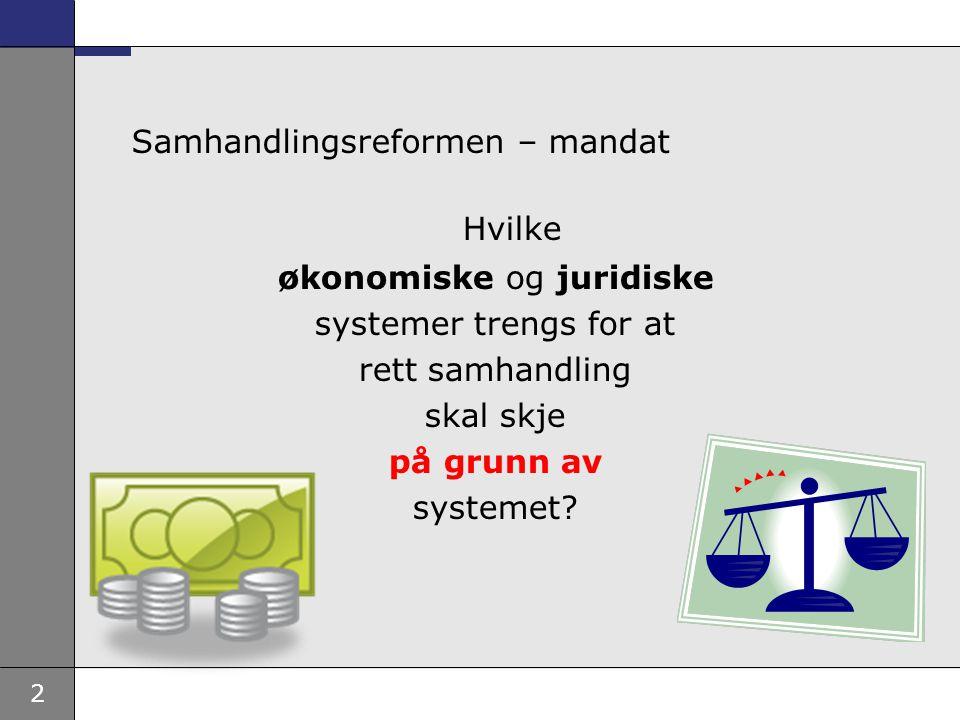 Samhandlingsreformen – mandat