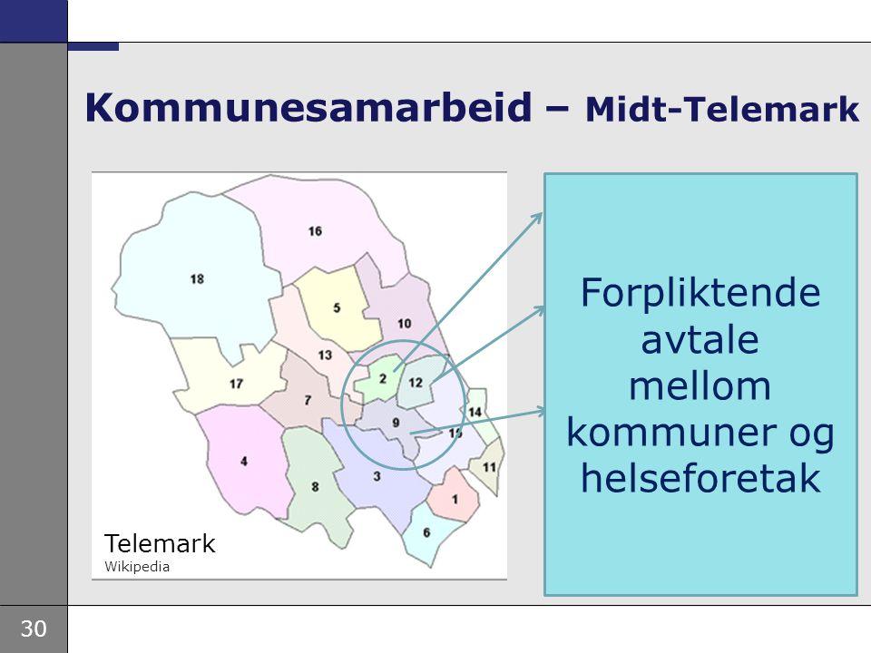 Kommunesamarbeid – Midt-Telemark