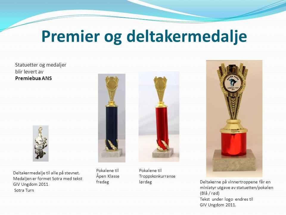 Premier og deltakermedalje