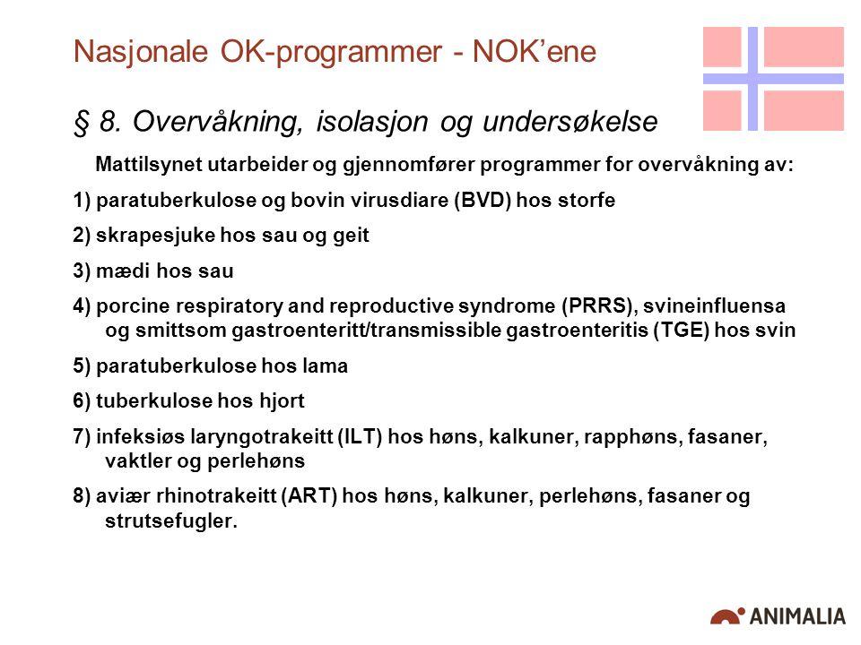 Nasjonale OK-programmer - NOK'ene