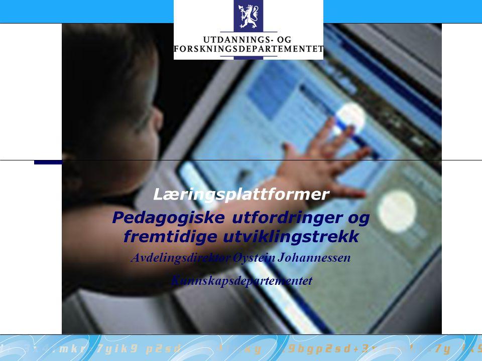 Pedagogiske utfordringer og fremtidige utviklingstrekk
