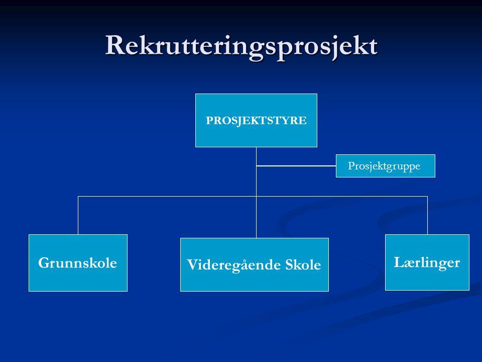 Rekrutteringsprosjekt