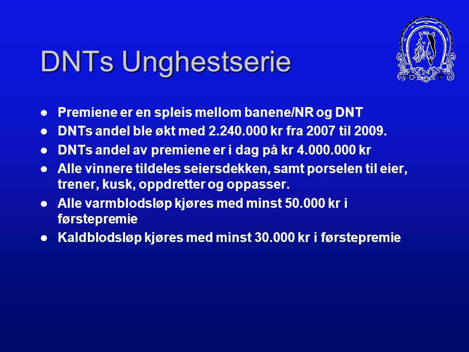 DNTs Unghestserie Premiene er en spleis mellom banene/NR og DNT