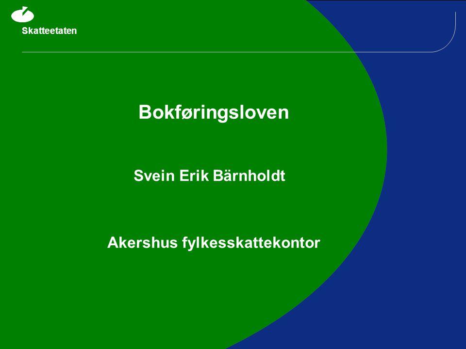 Svein Erik Bärnholdt Akershus fylkesskattekontor